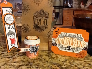 A few Halloween goodies using the new holiday product.